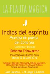 Indios del espiritu - Roberto Echevarren