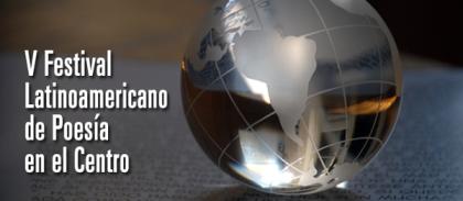 V festival latinoamericano de poesia en el centro