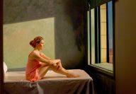 Recreación de «Sol de Mañana» de Edward Hopper, por Ed Lachman en el Museo Thyssen-Bornemisza de Madrid
